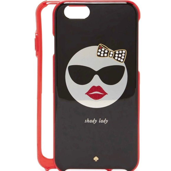 kate spade ♠️ 'Shady Lady' iPhone 6 case